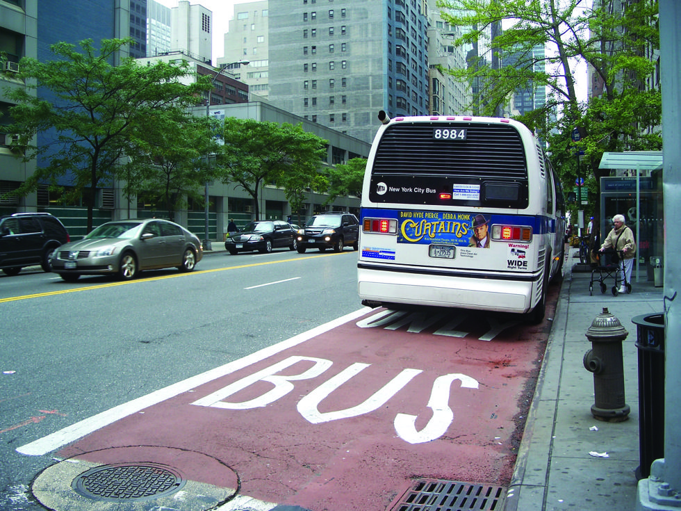 bus lane violation