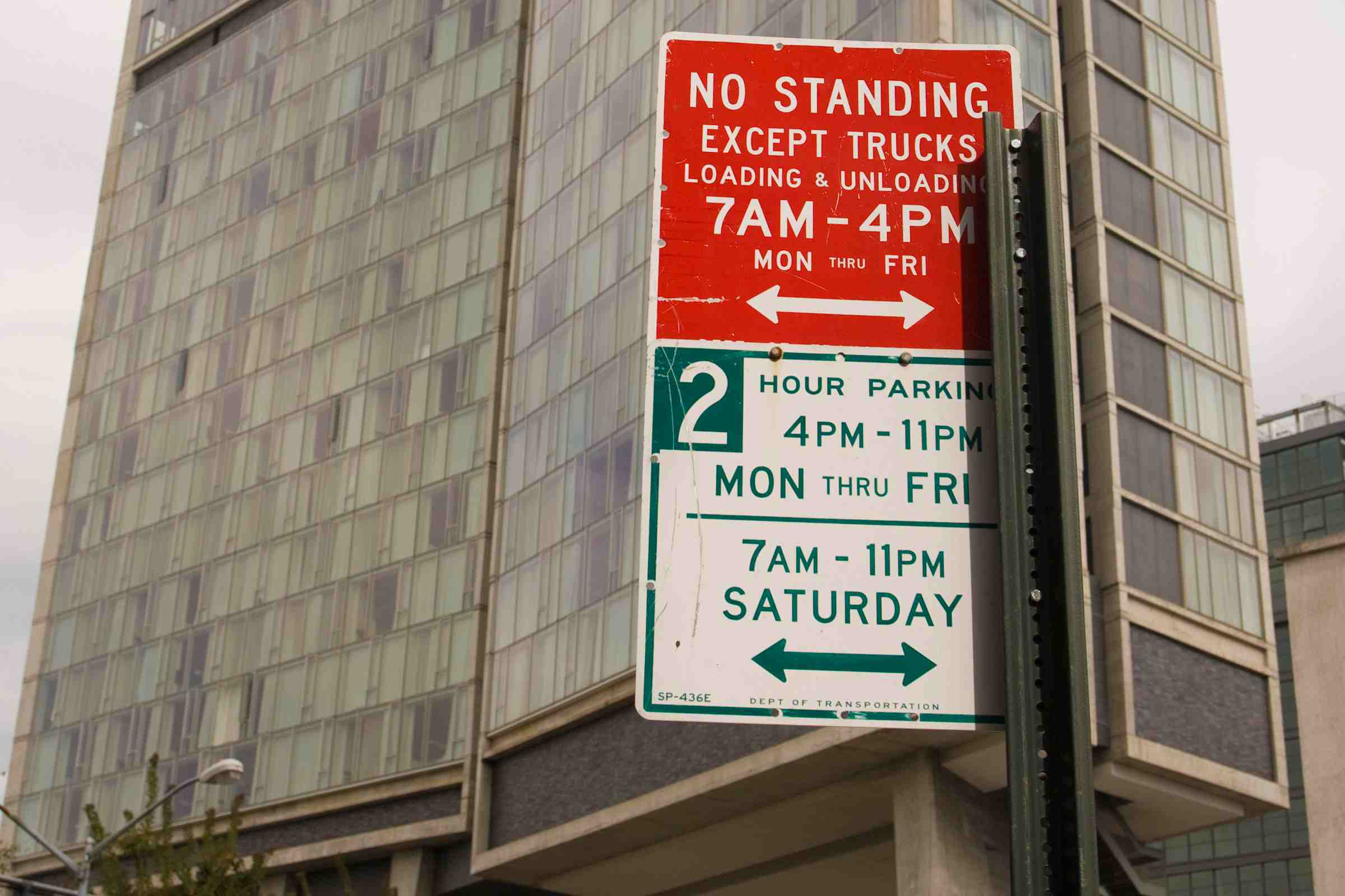 multiple parking signs