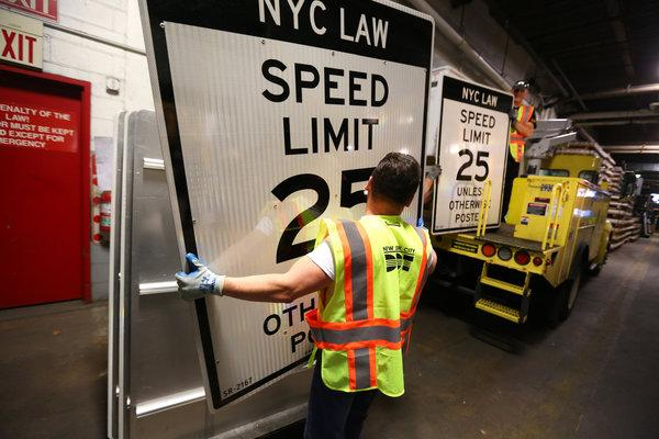 SLower speed limits are effective at protection pedestrians and bikers