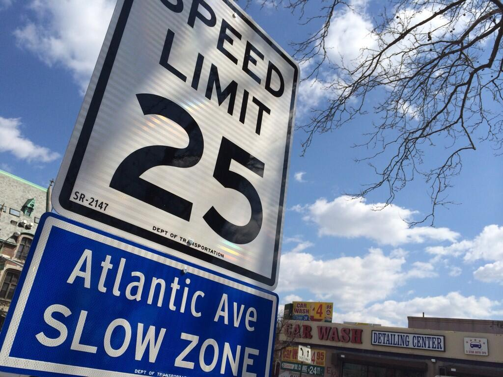 Slow Zones are areas where drivers must take precautions.