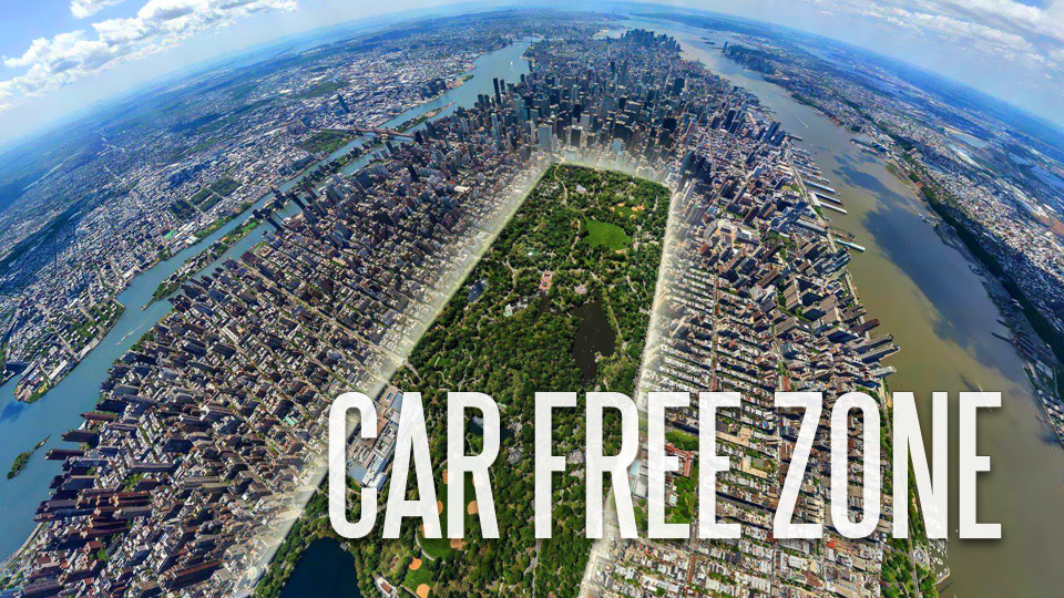 Car Ban turns Central Park into a Car Free Zone