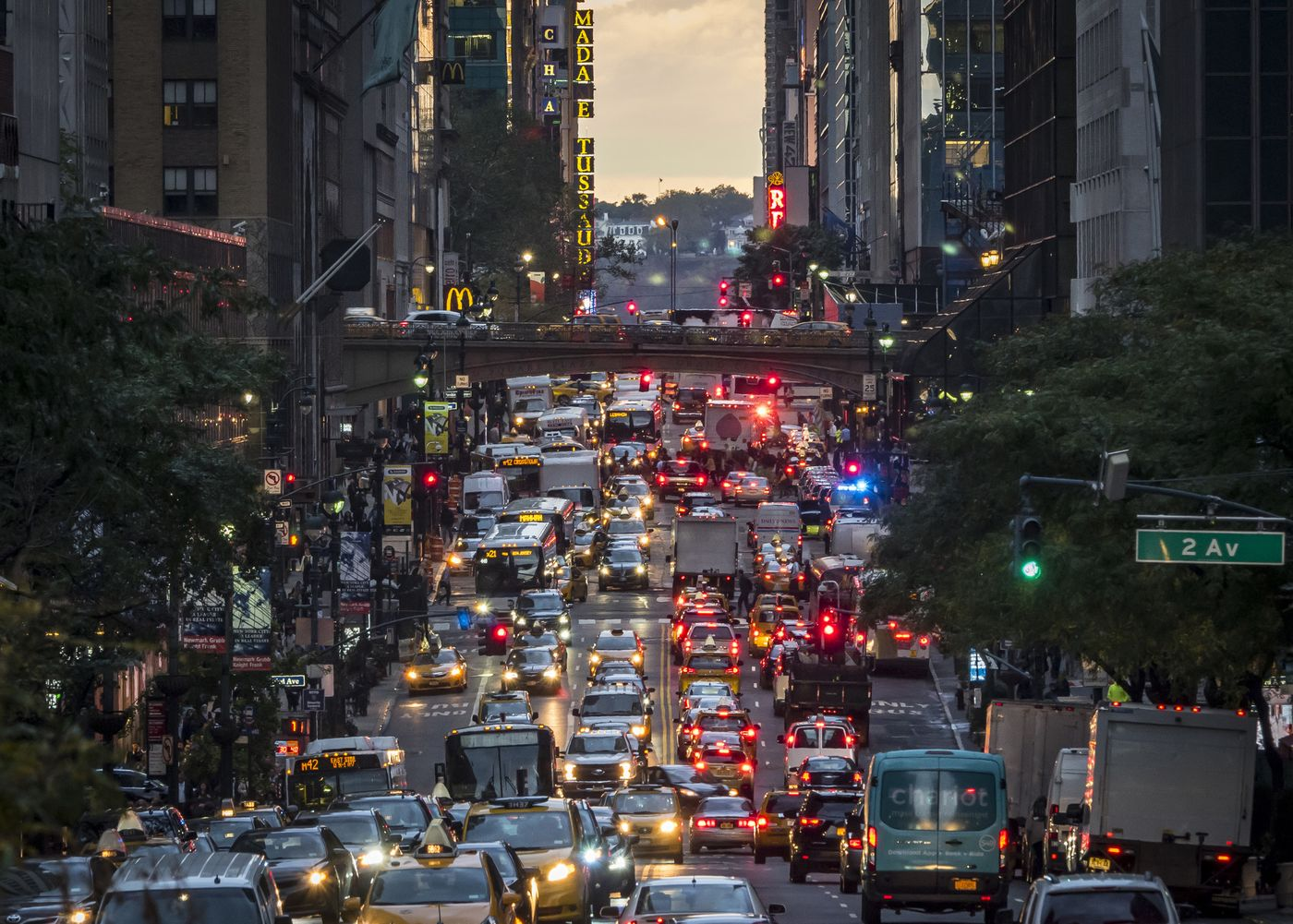 Gridlock alert days coming to NYC