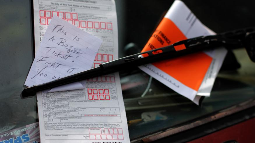 Your dispute letter can beat a bogus parking ticket